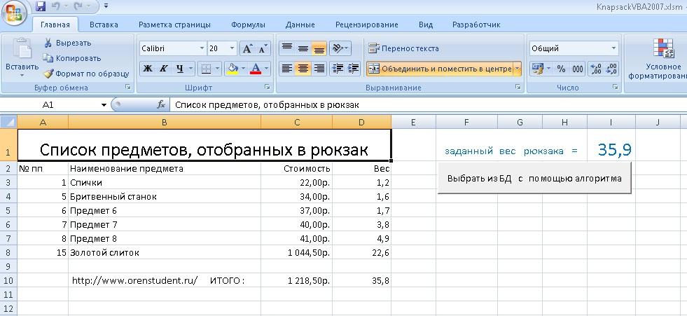Задача о рюкзаке на паскаль цены на школьные рюкзаки в днепропетровске
